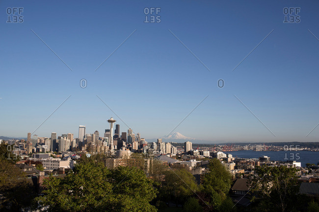 Skyline of downtown Seattle