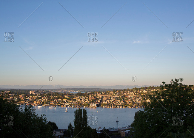Lake Union in Seattle, Washington