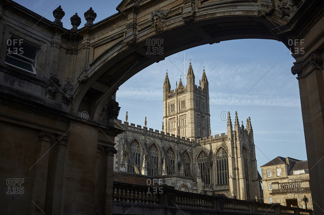 Bath Abbey in Bath, England