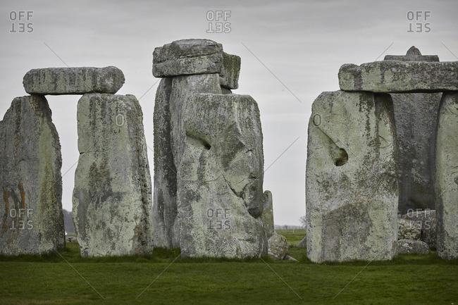 Stonehenge site in Wiltshire, England