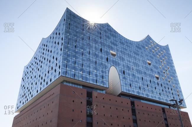 Germany, Hamburg, view to Elbphilharmonie