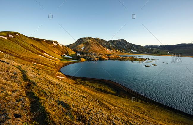 Scenic view, Frostastadavatn, Highlands, Iceland