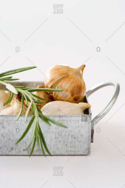Rosemary and roasted garlic - Offset