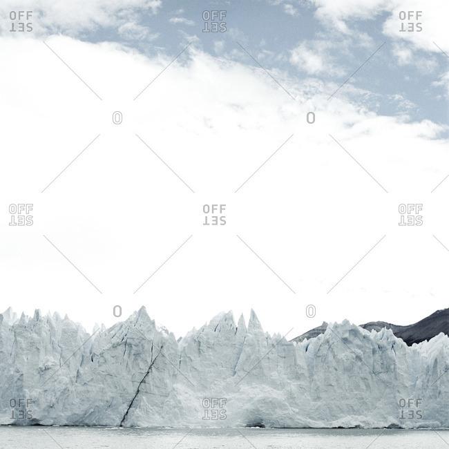 Craggy peaks of Perito Moreno Glacier, Argentina