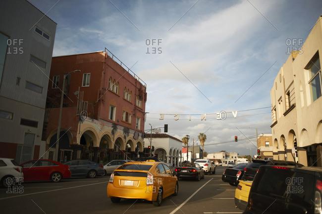Street, Venice Beach, Los Angeles, USA