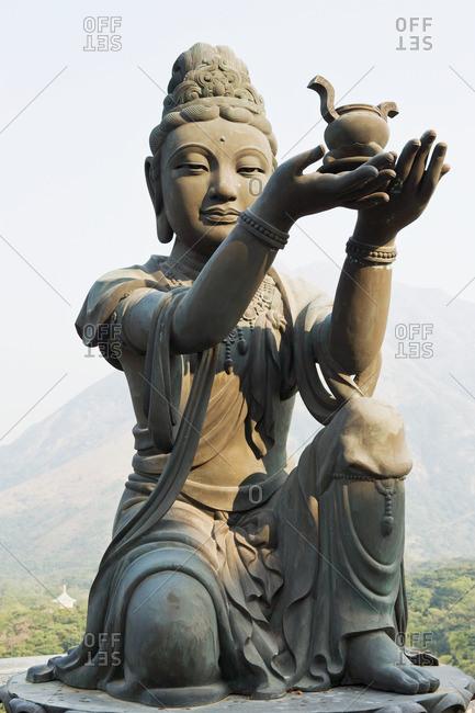 Statue at po lin monastery