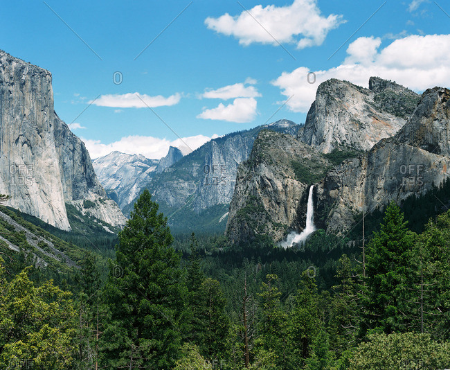 Landscape of Yosemite National Park