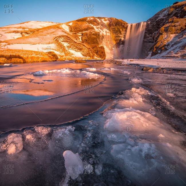 Icelandic landscape, South Iceland