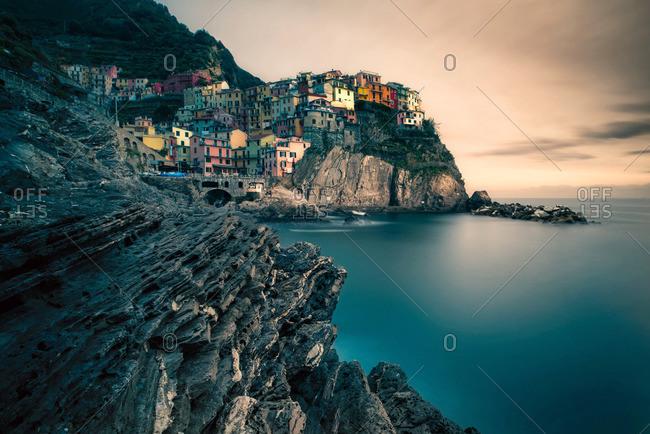 Vernazza village, Cinque Terre National Park, Cinque Terre, Liguria, Italy