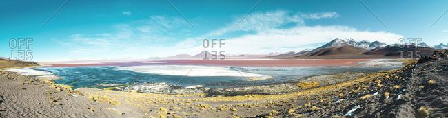 Bolivia, Eduardo Avaroa Andean Fauna National Reserve, Bolivia. Laguna Colorada