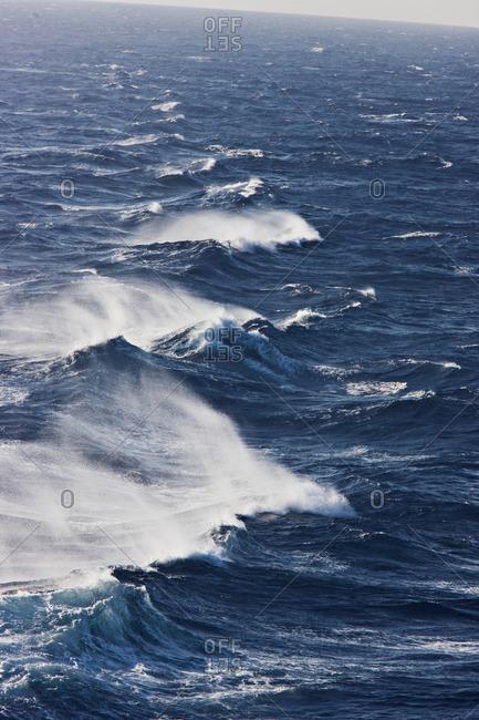 Rocky waves in ocean