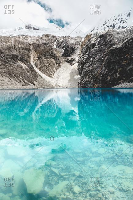 Peru Cordillera Blanca Huaraz Huascaran National Park Laguna 69