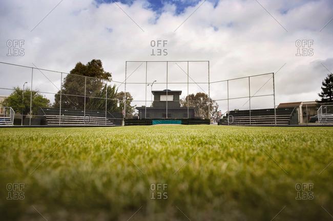 Empty baseball diamond. - Offset Collection