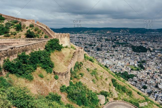 Jaipur cityscape, India 2013