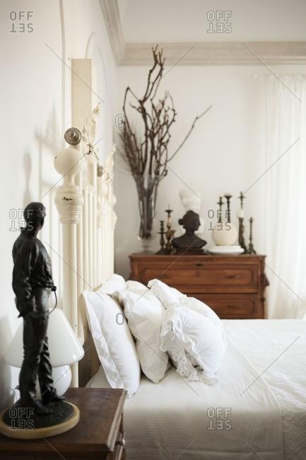 Cozy interior of a bedroom