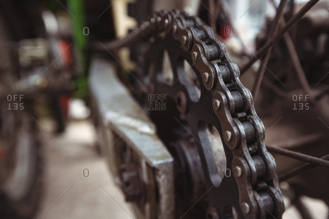 Chain of motorcycle
