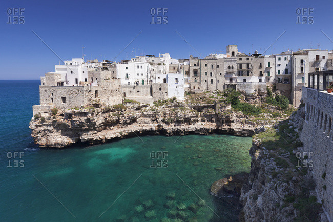 Polignano a Mare, Bari district, Puglia, Italy, Europe