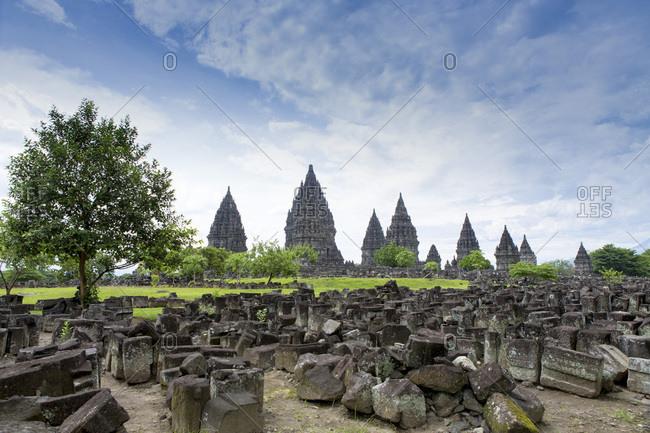 Prambanan Hindu temples, UNESCO World Heritage Site, near Yogyakarta, Java, Indonesia, Southeast Asia, Asia