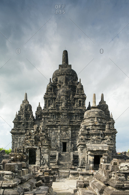 Sewu Temple near Prambanan, Java, Indonesia, Southeast Asia, Asia