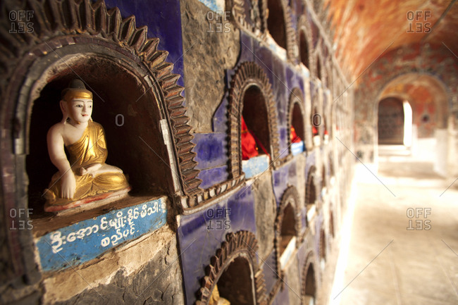 Shwe Yan Pyay Monastery, Nyaungshwe, Inle Lake, Myanmar (Burma), Asia