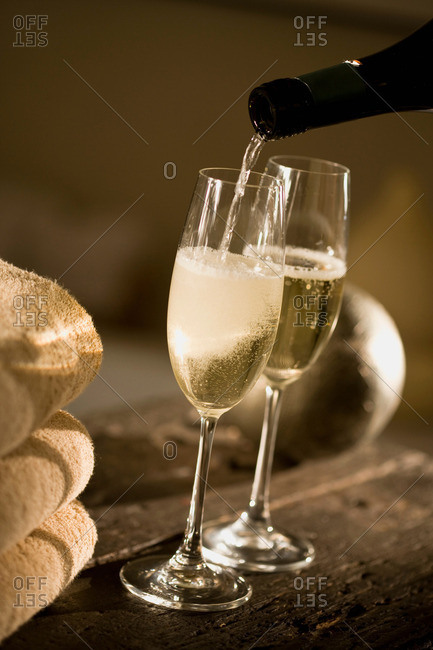 Sparkling wine from the Offset Collection