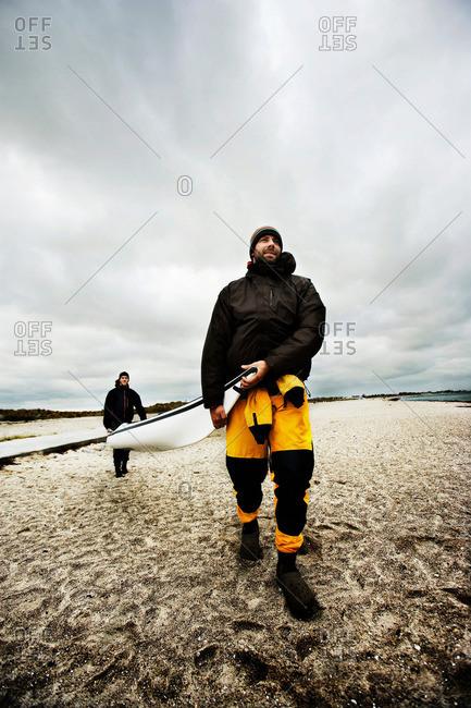 Carrying Kayak