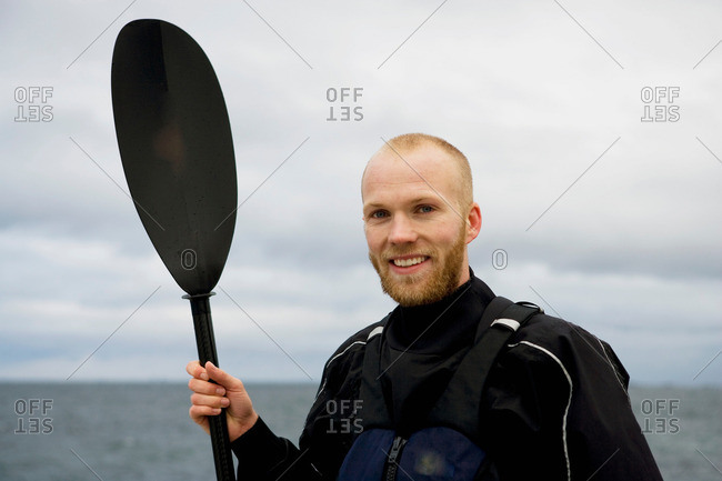 Portrait of kayaker