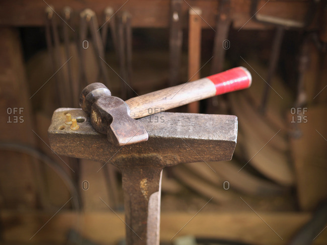 Hammer in cooperage - Offset Collection