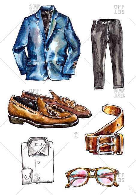 Men's fashion clothing and accessories