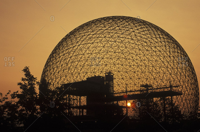 August 24, 2007: Biosphere, Montreal, Quebec, Canada.