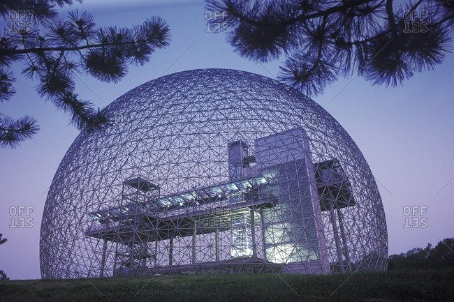 August 24, 2007: Biosphere, Montreal, Quebec, Canada.