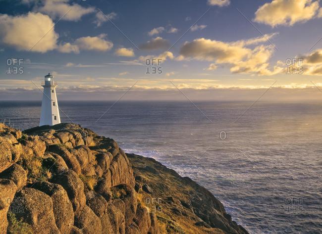 Cape Spear National Historic Site, Newfoundland, Canada.
