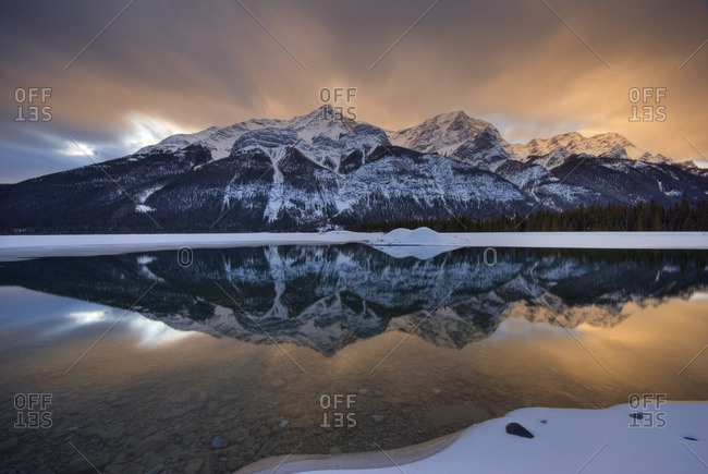Goat Range, Goat Lake, Spray Valley Provincial Park, Kananaskis Country, Alberta, Canada.