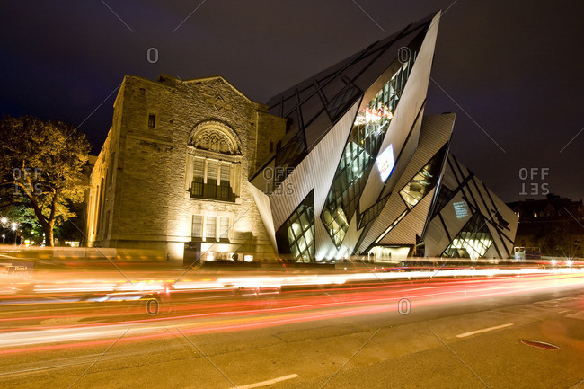 "September 11, 2007: new ""Crystal"" addition to ROM (Royal Ontario Museum), Toronto, Ontario, Canada."