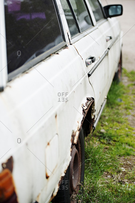 Old and weathered car