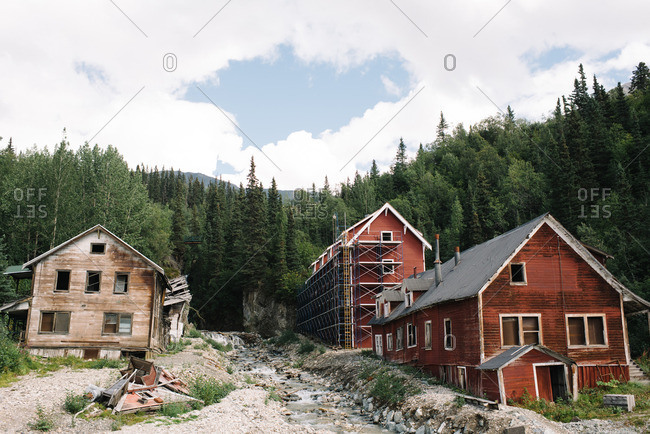 Kennecott Mines National Historic Landmark in Kennecott, Alaska