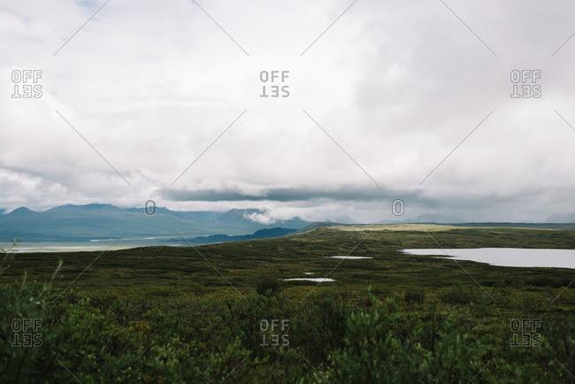 Lakes in Denali National Park in Alaska