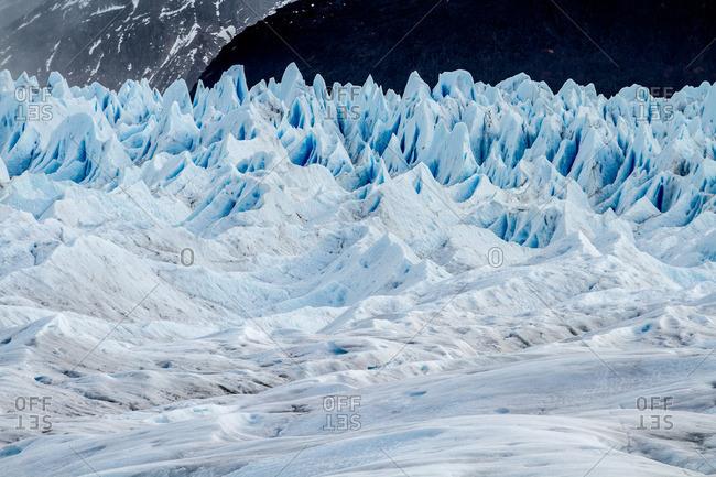Rugged glacier landscape, Argentina