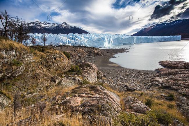 Majestic glacier landscape in Argentina