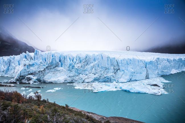 Majestic glacier landscape, Argentina