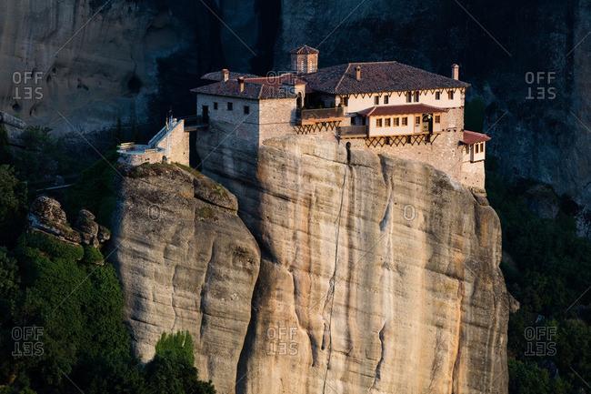 Monastery on a mountain peak