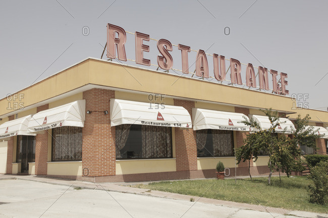 Restaurant on the highway