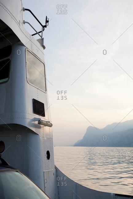 Ship out at sea