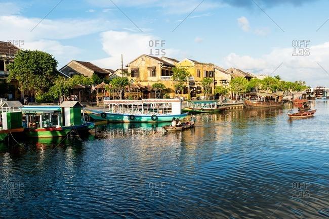 Nha Trang, Vietnam - September 11, 2016: Shore of Hoi An old town