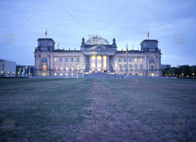 The Bundestag dome in germany