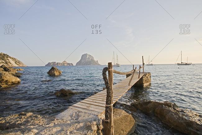 Coast of Ibiza