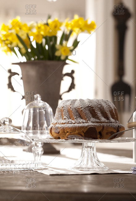 A decorated table