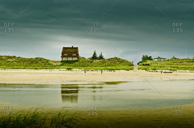 Sand beach on Amrum