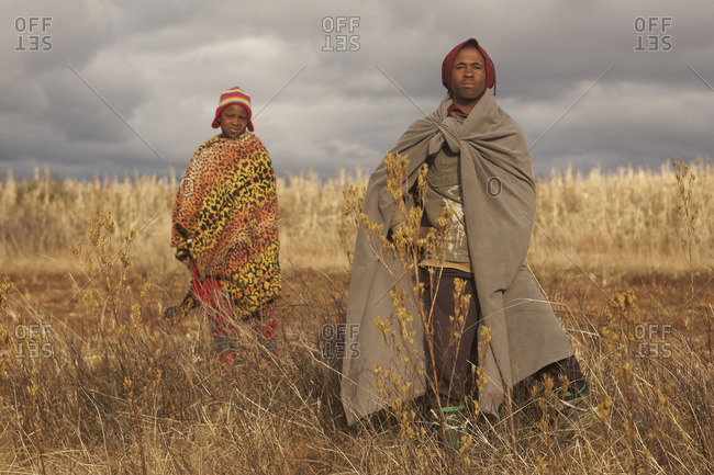 January 15, 2016: Shepherds in Lesotho