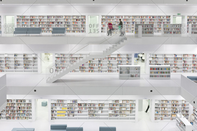 City library of Stuttgart